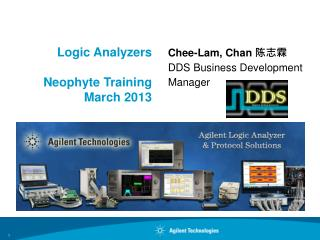 Logic Analyzers  Neophyte Training  March 2013