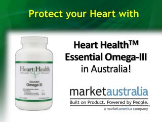 Heart Health TM  Essential Omega-III  in Australia!