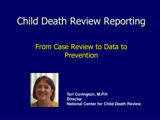 Child Death Review Reporting