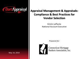 Appraisal Management & Appraisals: Compliance & Best Practices for Vendor Selection