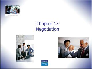 Chapter 13 Negotiation
