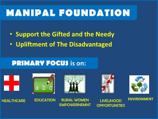 Support  the Gifted and the Needy Upliftment  of The Disadvantaged