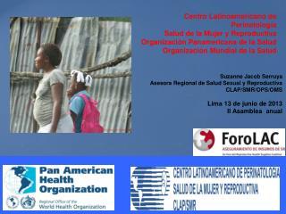 Centro Latinoamericano de Perinatología Salud de la Mujer y Reproductiva