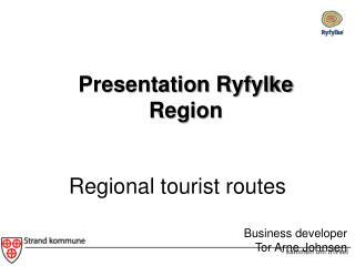 Regional  tourist routes