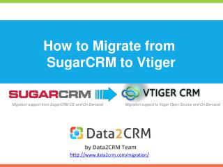 Migrate SugarCRM to Vtiger Automatedly