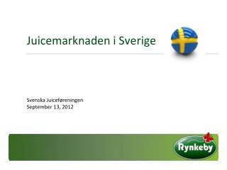 Juicemarknaden i Sverige
