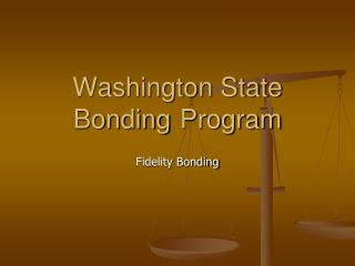 Washington State Bonding Program