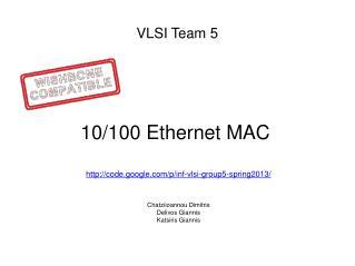 VLSI Team 5