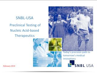 SNBL-USA Preclinical Testing of  Nucleic Acid-based Therapeutics