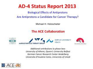AD-4 Status Report 2013