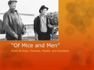 of mice and men violence The novel 'of mice and men', written by john steinbeck, is a tale of an extraordinary friendship between two ranch workers who fight for survival in the harsh times of the 1930s, the great depression of america the essay concerns the role of violence.