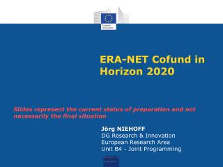 ERA-NET  Cofund  in Horizon 2020