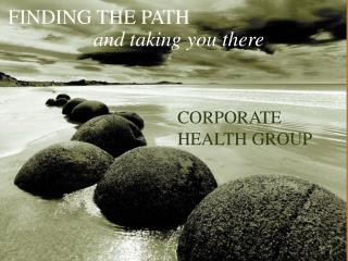 CORPORATE  HEALTH GROUP