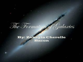 The Formation of Galaxies