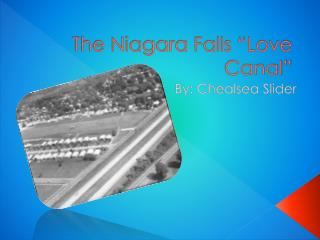 "The Niagara Falls ""Love Canal"""