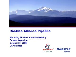 Rockies Alliance Pipeline