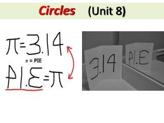 Circles (Unit 8)