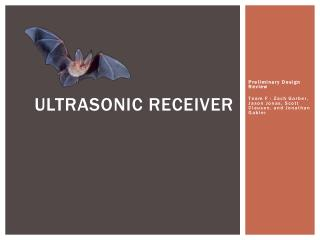Ultrasonic Receiver
