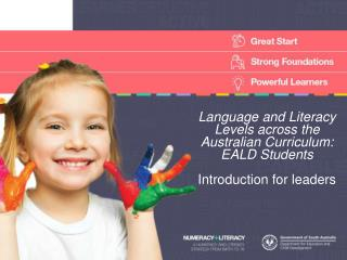 Language and Literacy Levels across the Australian Curriculum: EALD Students