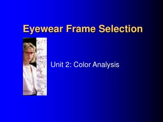 Eyewear Frame Selection