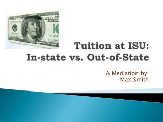 Tuition at ISU: In-state vs. Out-of-State