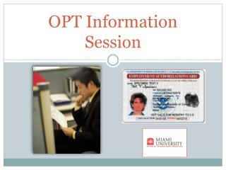 OPT Information Session