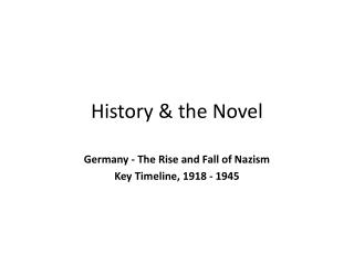 a history of the military defeat and collapse of nazism Why did the soviet union break up  why did the soviet union collapse  nazism and fascism was wiped out from the face of the world in 1945.