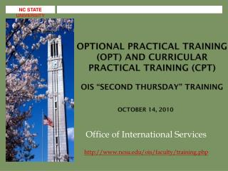 Office of International Services ncsu/ois/faculty/training.php