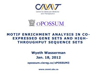 Motif Enrichment Analysis in Co-Expressed Gene Sets and High-Throughput Sequence Sets