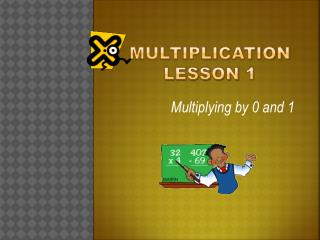 Multiplication lesson 1
