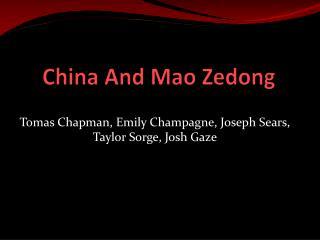 China And Mao Zedong