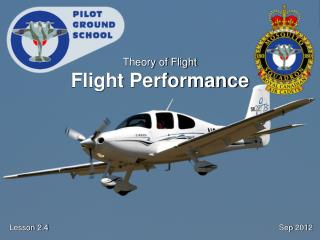 Theory of Flight Flight Performance