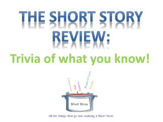 The Short Story Review: