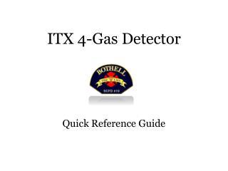 ITX 4-Gas Detector