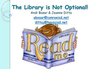 The Library is Not Optional!