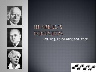In Freud's  footsteps
