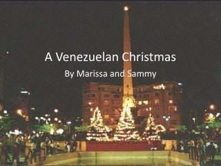 A Venezuelan Christmas