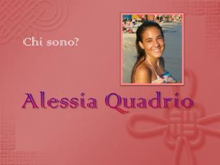 Alessia  Quadrio