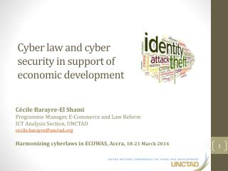 Cyber  law  and cyber  security  in support of  economic development
