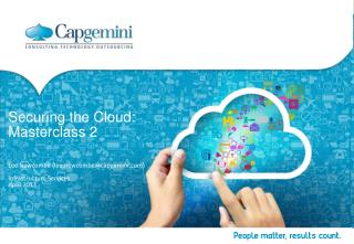 Securing the Cloud: Masterclass 2