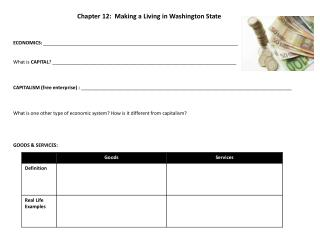 Chapter 12:  Making a Living in Washington State