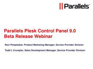 Parallels Plesk Control Panel 9.0