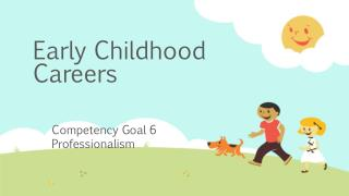 Early Childhood Careers