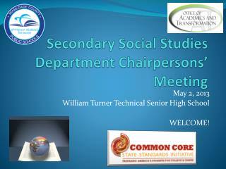 Secondary Social Studies Department Chairpersons' Meeting