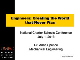 Engineers: Creating the World that Never Was