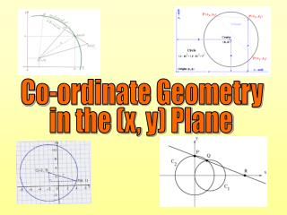 Co-ordinate Geometry