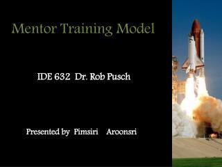 Mentor Training Model