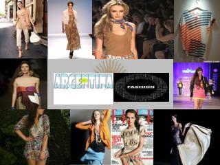 When did Argentina Fashion begin?
