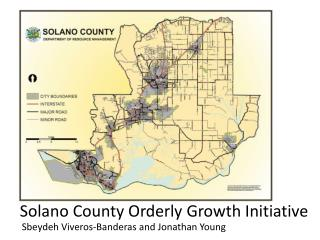 Solano County Orderly Growth Initiative