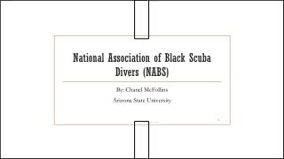 National Association of Black Scuba Divers (NABS)
